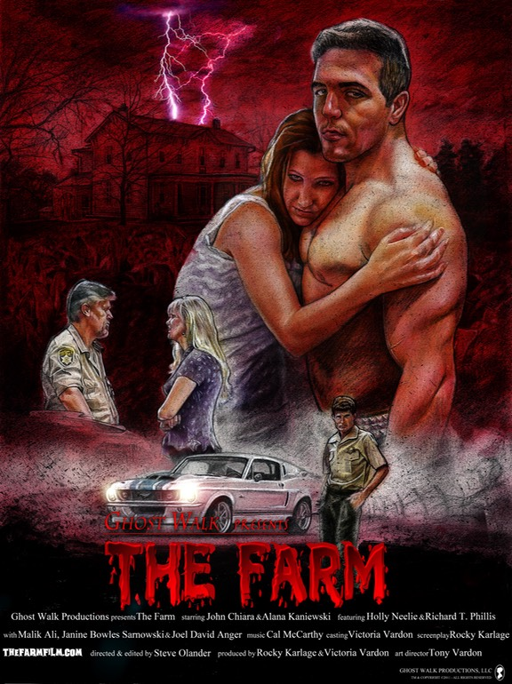 Ghost Walk The Farm Poster